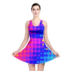 Totally Trippy Hippy Rainbow Reversible Skater Dresses
