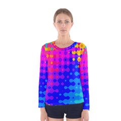 Totally Trippy Hippy Rainbow Women s Long Sleeve T-shirts