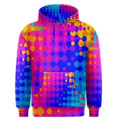 Totally Trippy Hippy Rainbow Men s Pullover Hoodies