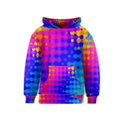 Totally Trippy Hippy Rainbow Kid s Pullover Hoodies