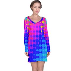 Totally Trippy Hippy Rainbow Long Sleeve Nightdresses
