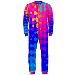Totally Trippy Hippy Rainbow OnePiece Jumpsuit (Men)
