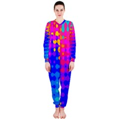 Totally Trippy Hippy Rainbow OnePiece Jumpsuit (Ladies)