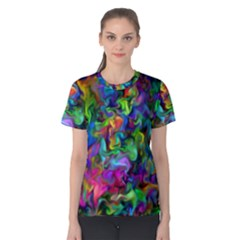 Unicorn Smoke Women s Cotton Tee
