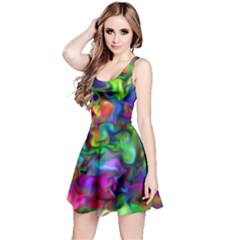 Unicorn Smoke Reversible Sleeveless Dress