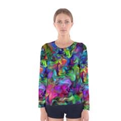 Unicorn Smoke Women s Long Sleeve T-shirt