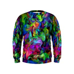 Unicorn Smoke Kid s Sweatshirt