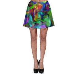 Unicorn Smoke Skater Skirts