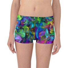 Unicorn Smoke Reversible Boyleg Bikini Bottoms