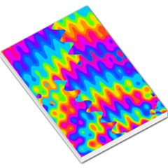 Amazing Acid Rainbow Large Memo Pads