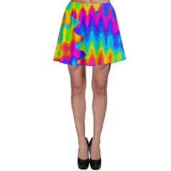 Amazing Acid Rainbow Skater Skirts