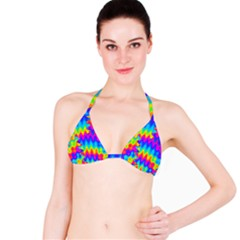 Amazing Acid Rainbow Bikini Tops