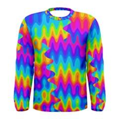 Amazing Acid Rainbow Men s Long Sleeve T-shirts