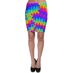 Amazing Acid Rainbow Bodycon Skirts