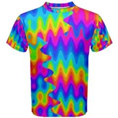 Amazing Acid Rainbow Men s Cotton Tees