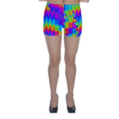 Amazing Acid Rainbow Skinny Shorts
