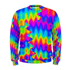 Amazing Acid Rainbow Men s Sweatshirts