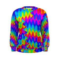 Amazing Acid Rainbow Women s Sweatshirts