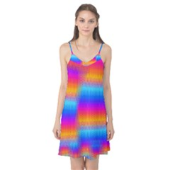 Psychedelic Rainbow Heat Waves Camis Nightgown