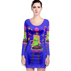 Fairy Punk Long Sleeve Bodycon Dresses