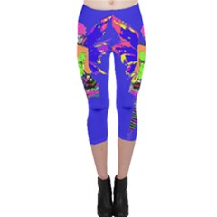 Fairy Punk Capri Leggings