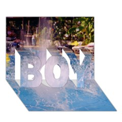 Splash 3 BOY 3D Greeting Card (7x5)