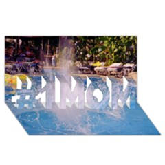 Splash 3 #1 Mom 3d Greeting Cards (8x4)