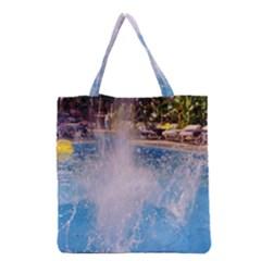 Splash 3 Grocery Tote Bags
