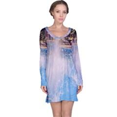 Splash 3 Long Sleeve Nightdresses