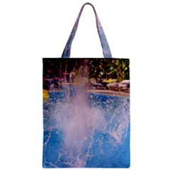 Splash 3 Zipper Classic Tote Bags