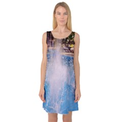 Splash 3 Sleeveless Satin Nightdresses