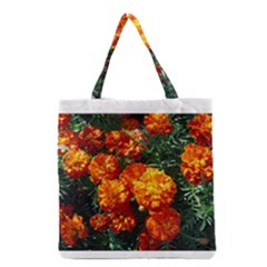 Tagetes Grocery Tote Bags