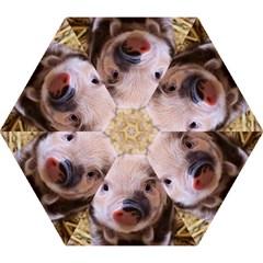 Sweet Piglet Mini Folding Umbrellas