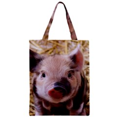 Sweet Piglet Classic Tote Bags