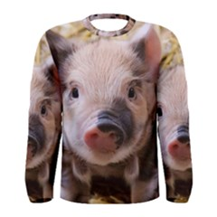 Sweet Piglet Men s Long Sleeve T-shirts