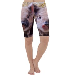 Sweet Piglet Cropped Leggings