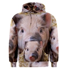 Sweet Piglet Men s Pullover Hoodies