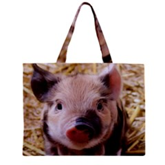 Sweet Piglet Zipper Tiny Tote Bags