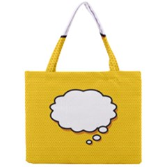 Comic Book Think Tiny Tote Bags