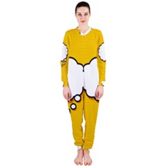 Comic Book Think OnePiece Jumpsuit (Ladies)