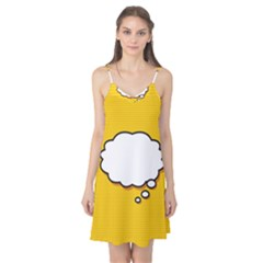 Comic Book Think Camis Nightgown