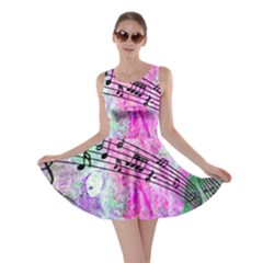 Abstract Music  Skater Dresses