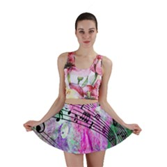 Abstract Music  Mini Skirts