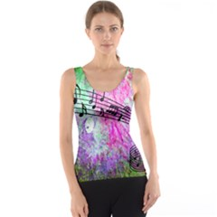 Abstract Music  Tank Tops