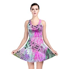 Abstract Music  Reversible Skater Dresses