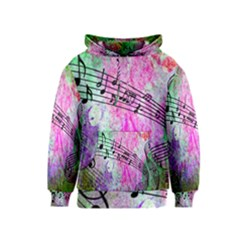 Abstract Music  Kid s Pullover Hoodies