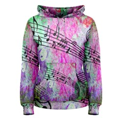 Abstract Music  Women s Pullover Hoodies