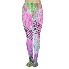 Abstract Music  Women s Tights