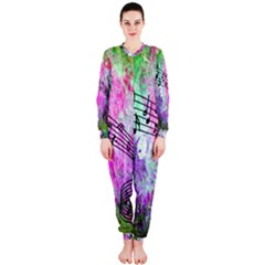 Abstract Music  Onepiece Jumpsuit (ladies)