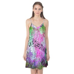 Abstract Music  Camis Nightgown